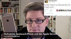 Verkratztes Austausch-iPhone und der Apple Service