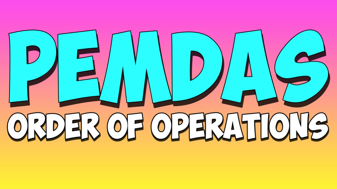 small resolution of Order of Operations - PEMDAS (video lessons