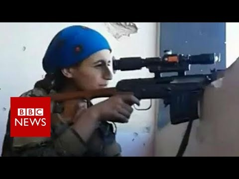 Female Kurdish sniper cheats death at hands of IS- BBC