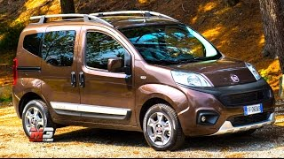 New fiat qubo 2017 - first test drive only sound