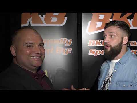 JOHN PHILIPS UFC FIGHTER INTERVIEW AT #BKB16