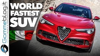 Alfa Romeo STELVIO QUADRIFOGLIO The World FASTEST SUV