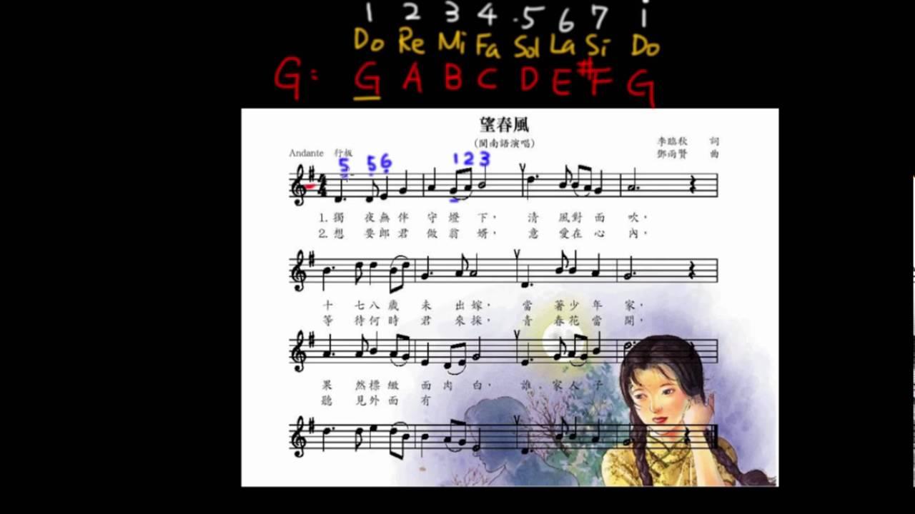 簡譜 - YouTube