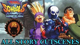 rival schools united by fate gedo hs story mode cutscenes