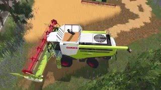 Farming Simulator 15 S14E5 Multiplayer - Żniwa na 7 kombajnów!