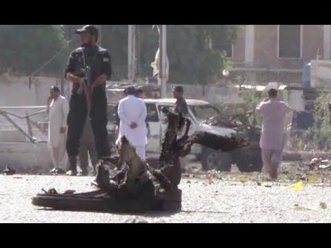 Blast on Quetta's Gulistan Road