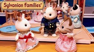 Кто живёт с кроликом Марией? Все серии подряд. Мультик с игрушками Sylvanian Families + обзоры