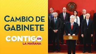 Cambio de Gabinete Sebastián Piñera | Crisis Chile 2019