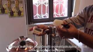 Egylépcsős pálinkafőzés a Pálinka Mester házi pálinkafőző berendezéssel