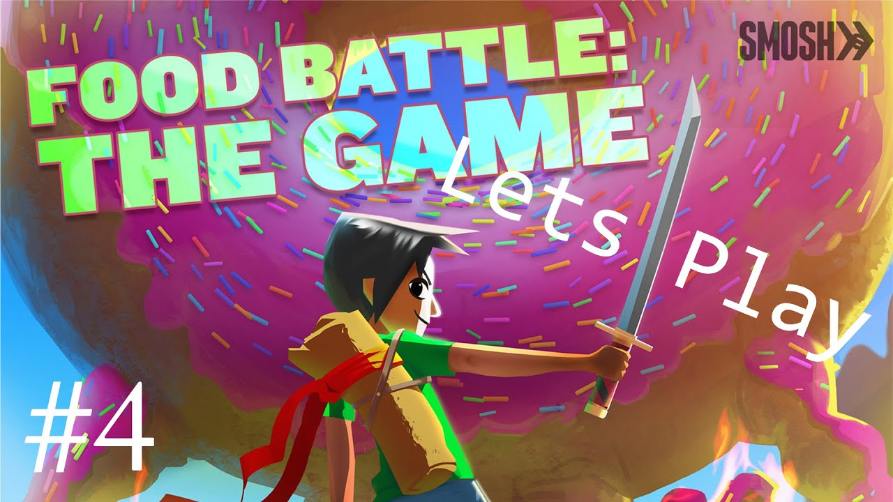 Food Battle: The Game - iPhone/iPod Touch/iPad - Gameplay ...