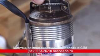 видео Насос скважинный TF3-110 (кабель 1.5 м) (Россия) купить за 10948 руб.