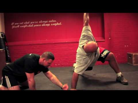 Laurence Shahlaei - Strongman rehab, mobility vlog.