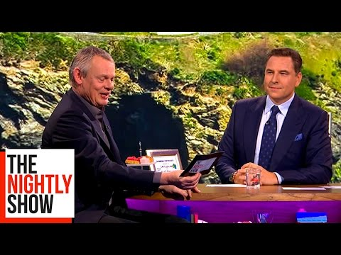 David Walliams Reads Erotic Fan Fiction to Martin Clunes | The Nightly Show