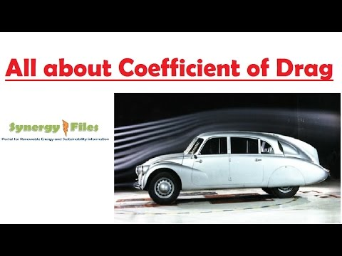 What is Coefficient of Drag ?
