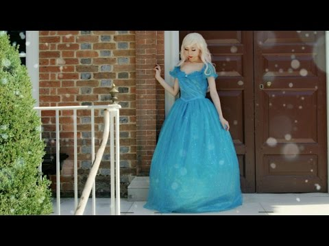 Cosplay in Public Ep3   Real life Cinderella   Cinderella Cosplay Costume