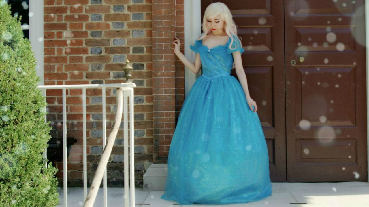 Cosplay In Public Ep3 Real Life Cinderella Costume You