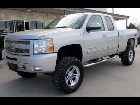 Lifted 2011 Chevy Silverado 1500 LT Ext. Cab 4WD - YouTube