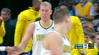 3rd Quarter, One Box Video: Denver Nuggets vs. Boston Celtics