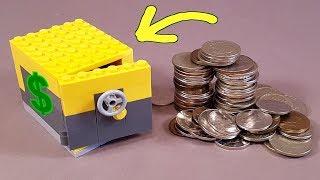Как сделать Секретный Сейф из Лего