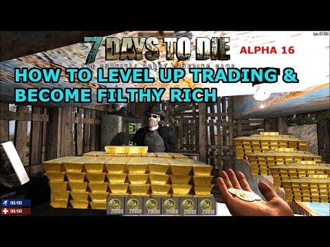 LEGIT Ways To Get RICH in 7D2D & Trading 101