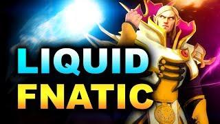 LIQUID vs FNATIC - AMAZING MATCH! - CHONGQING MAJOR DOTA 2