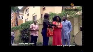 Iyabo Ojo, Desmond Elliot, Ini Edo and Halima In 'Beyond Disability' [ Behind The Scenes]
