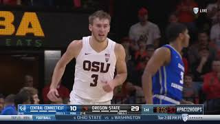 Oregon State MBB vs Central Connecticut Highlights - 12/29/18