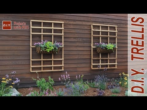 How to Make a Garden Trellis | DIY Trellis<a href='/yt-w/-jhL0J02pbs/how-to-make-a-garden-trellis-diy-trellis.html' target='_blank' title='Play' onclick='reloadPage();'>   <span class='button' style='color: #fff'> Watch Video</a></span>