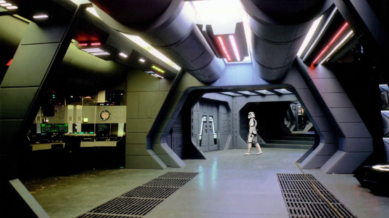 Background Star Wars Inside Death Star For Green Screen Funny Events Youtube