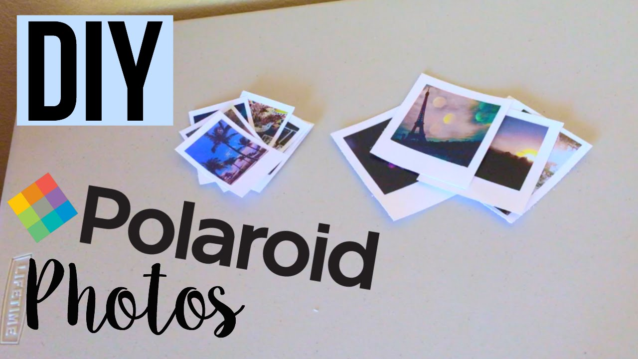 Connu DIY Polaroid Pics: Tumblr Inspired - YouTube BJ15