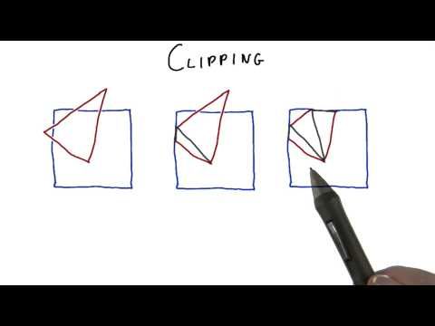 Clipping - Interactive 3D Graphics