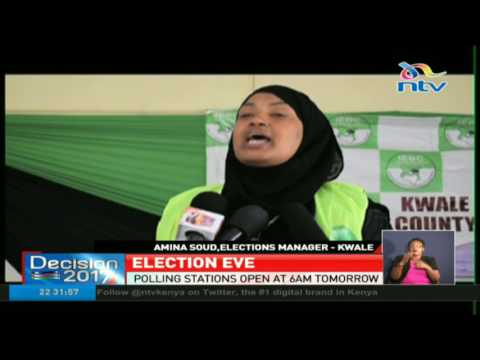 IEBC ready to conduct polls in Mombasa