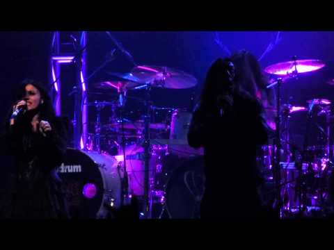 """""""Intoxicated"""" Lacuna Coil@Rams Head Live Baltimore 4/23/14 Dead & Rising Tour"""