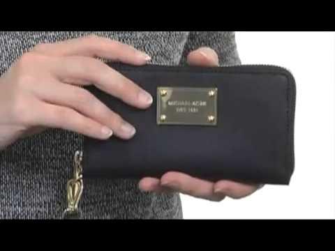 e7c7b868a16e MICHAEL Michael Kors Large Multifunction Phone Case SKU  8229527 - YouTube