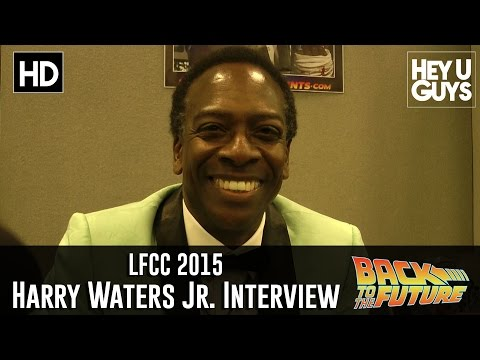 Harry Waters Jr. (Marvin Berry) Interview - LFCC 2015 (Back to the Future 30th Anniversary)