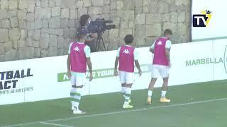 Resumen Amistoso Real Betis - Cádiz CF (22-08-20)