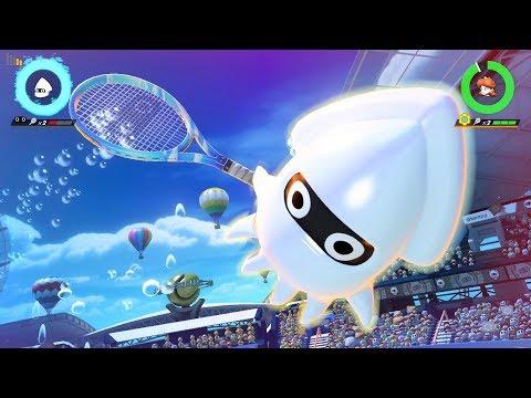 Mario Tennis Aces - New Character! - Blooper