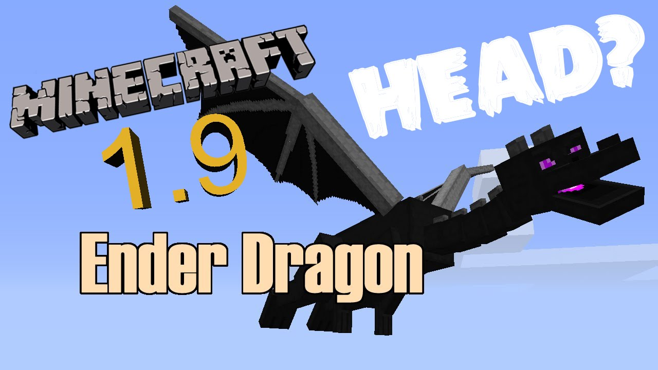how to make a dragon head in minecraft