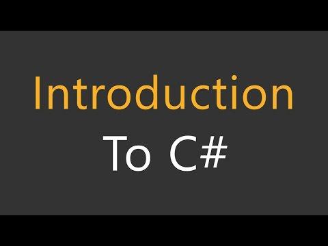 1 - C# Tutorial For Beginners in Hindi/Urdu - Introduction To C# Programming -  Hindi/Urdu