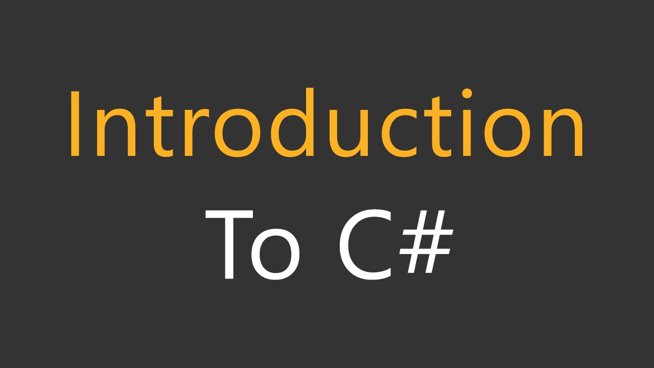Book For Learning C#