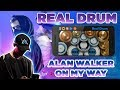 Download Alan Walker - On My Way (PUBG Music Video) | Real Drum Cover MP3