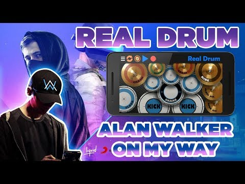 ON MY WAY - ALAN WALKER ( PUBG MUSIC VIDEO ) | REAL DRUM COVER