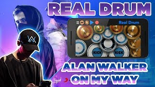 Gambar cover Alan Walker - On My Way (PUBG Music Video) | Real Drum Cover
