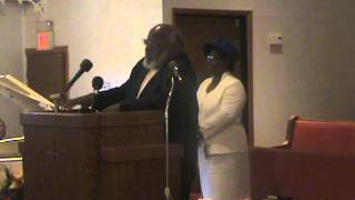 Elder Leroy Thomas- Doxology - Opening Prayer - Affirmation of Faith. 09-10-11.