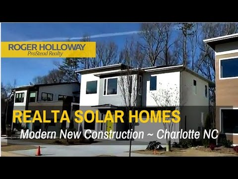 ReAlta Modern New Construction Solar Homes – Charlotte NC