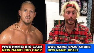10 Ex-WWE Wrestlers Forced to Change Their Name After Leaving WWE - Big Cass, Enzo Amore & more