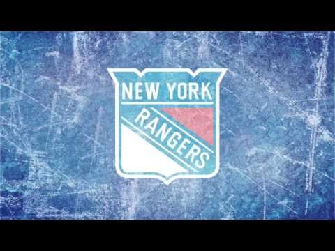 New York Ranger's Playoff Intros + National Anthem