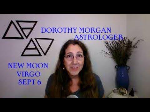 New Moon in Virgo Sept 6 - Solar Eclipse June 10