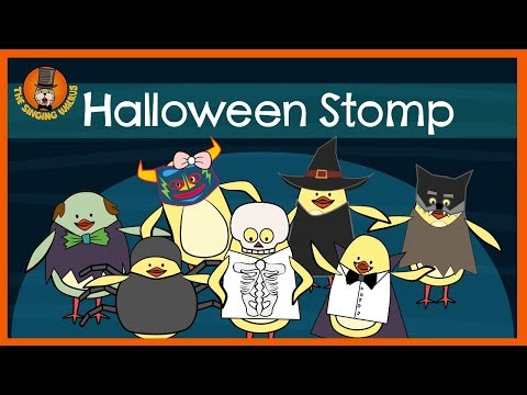 Halloween Stomp | Halloween Song for Kids | The Singing Walrus