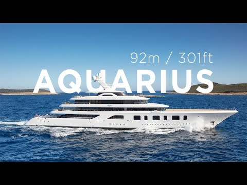 Feadship - Exclusive First Footage of 92m Superyacht Aquarius